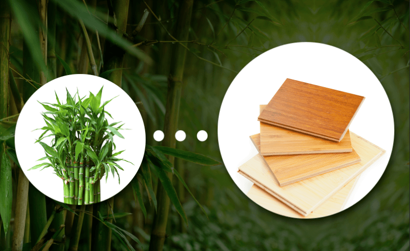 How bamboo flooring is made