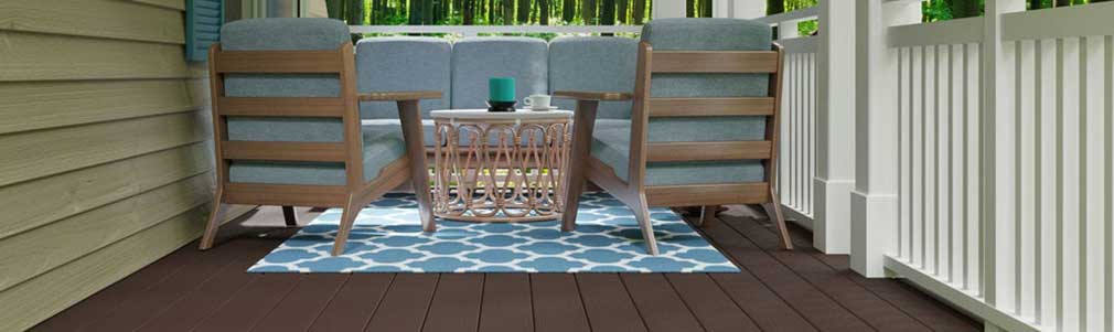 Composite decking is insect-proof and splinter-free.