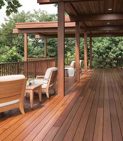 Grooved Decking