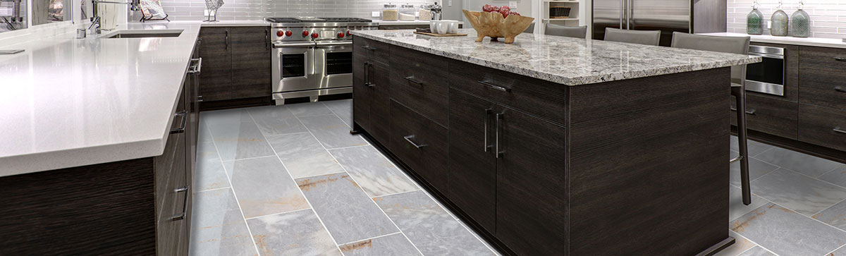 Marble tiles are an excellent insulator and it reflects light.