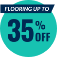 Flooring up to 35% off.
