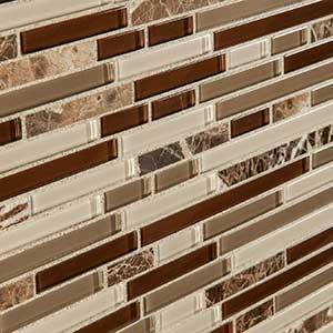 Brown Wall Tile & Mosaics